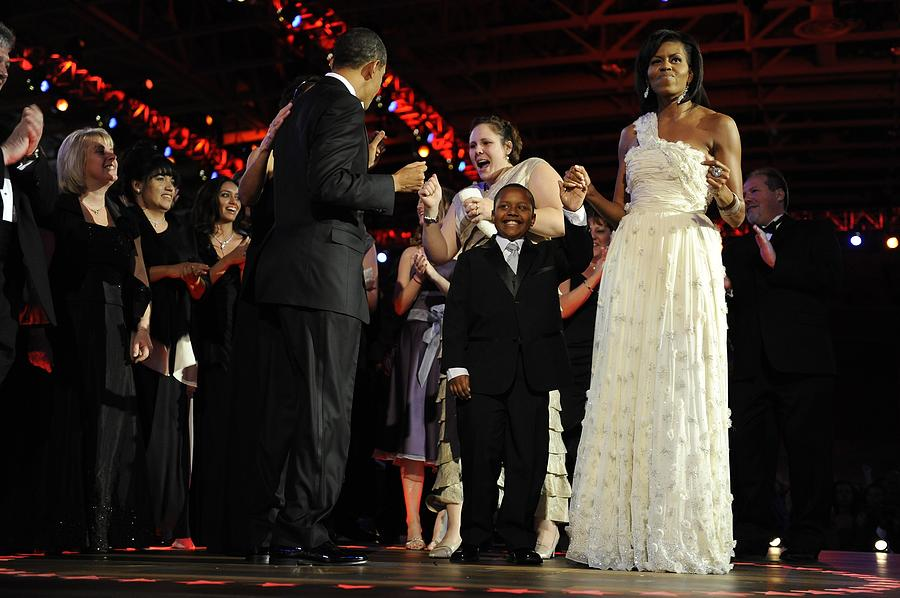 President And Michelle Obama Dance Photograph  - President And Michelle Obama Dance Fine Art Print
