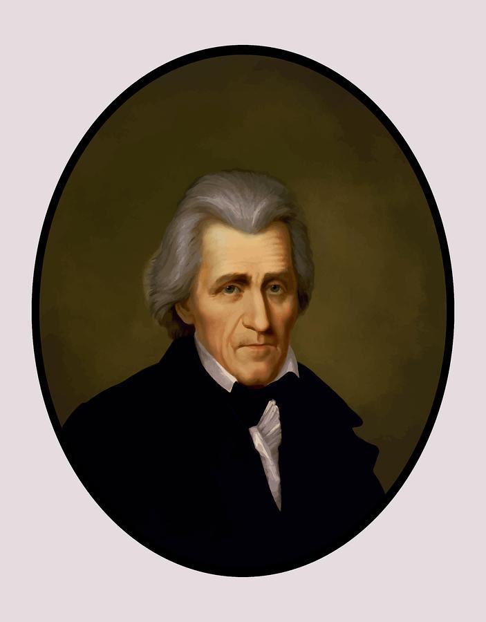 President Andrew Jackson Painting