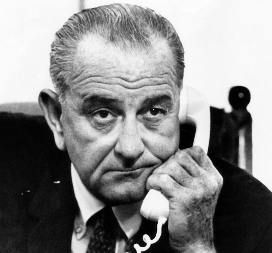 President Lyndon B. Johnson Photograph