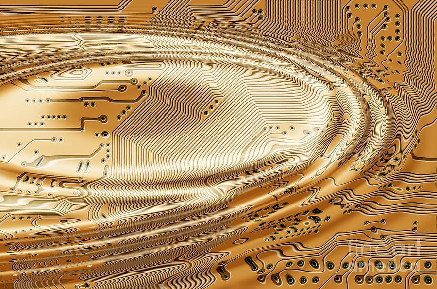 Printed Circuit Digital Art