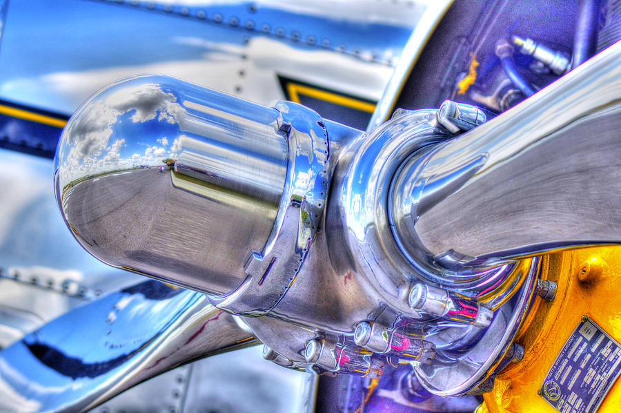 Propeller Photograph  - Propeller Fine Art Print