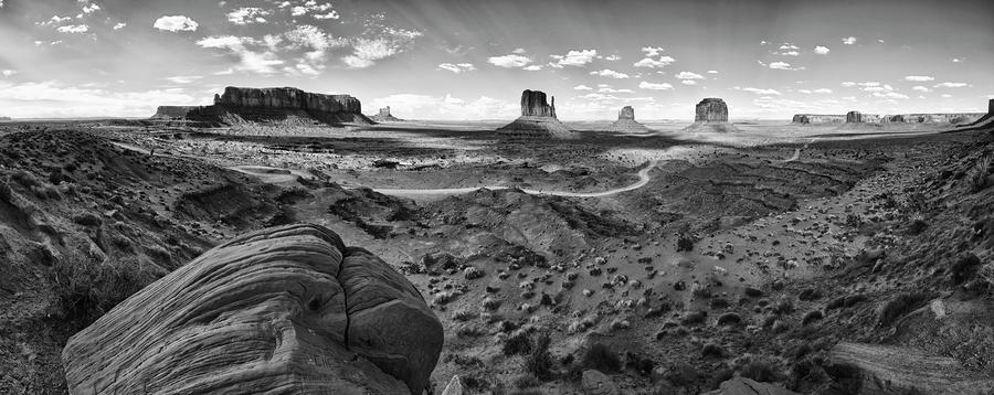 Pure Monument Valley Photograph