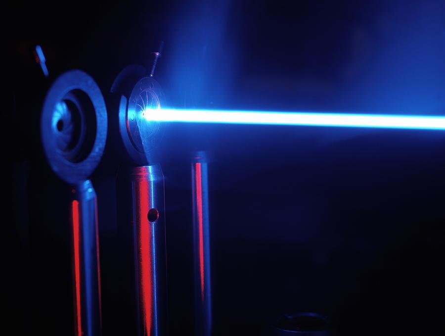 Quantum Entanglement Apparatus Photograph