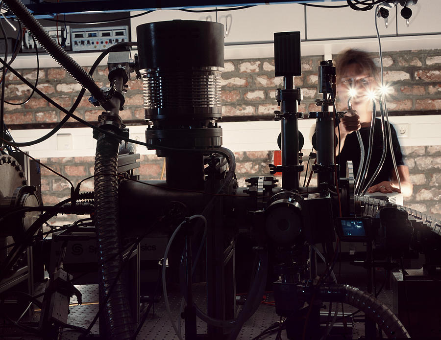 Quantum Entanglement Equipment Photograph