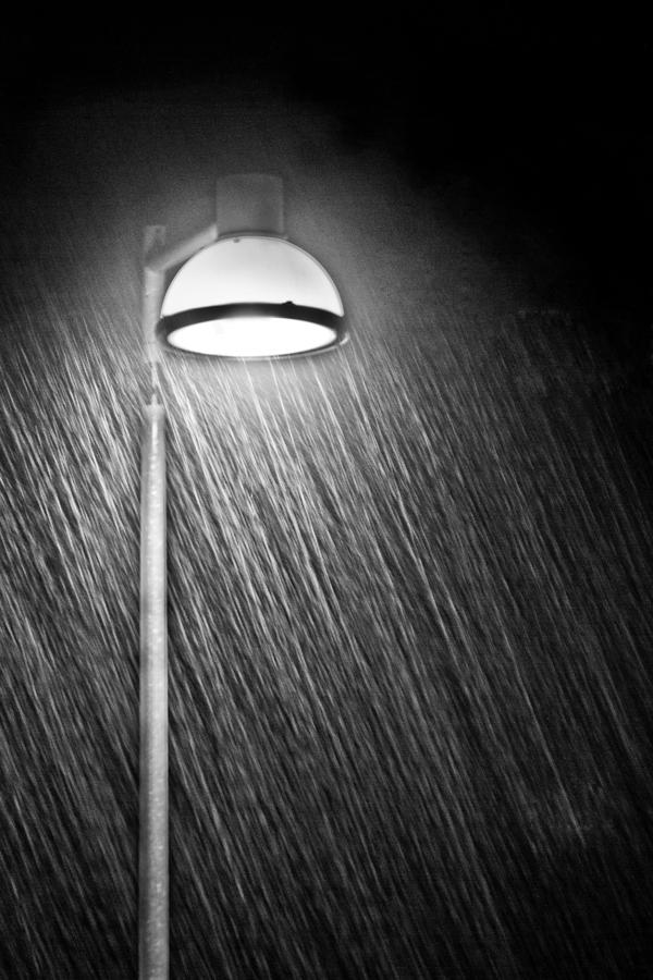 Rainy Night Photograph  - Rainy Night Fine Art Print