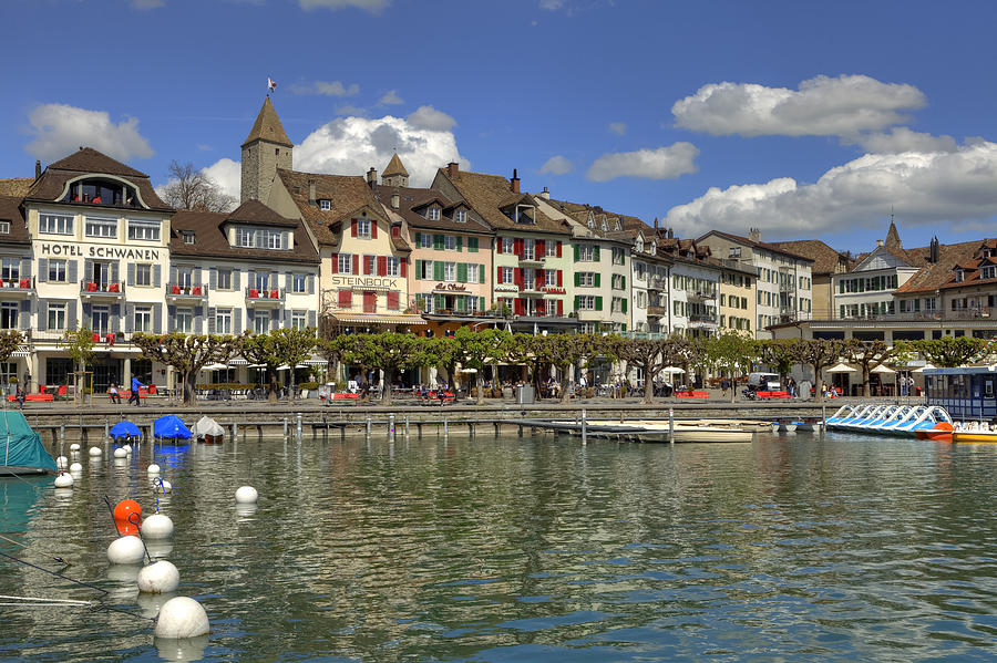 Rapperswil Photograph - Rapperswil by Joana Kruse