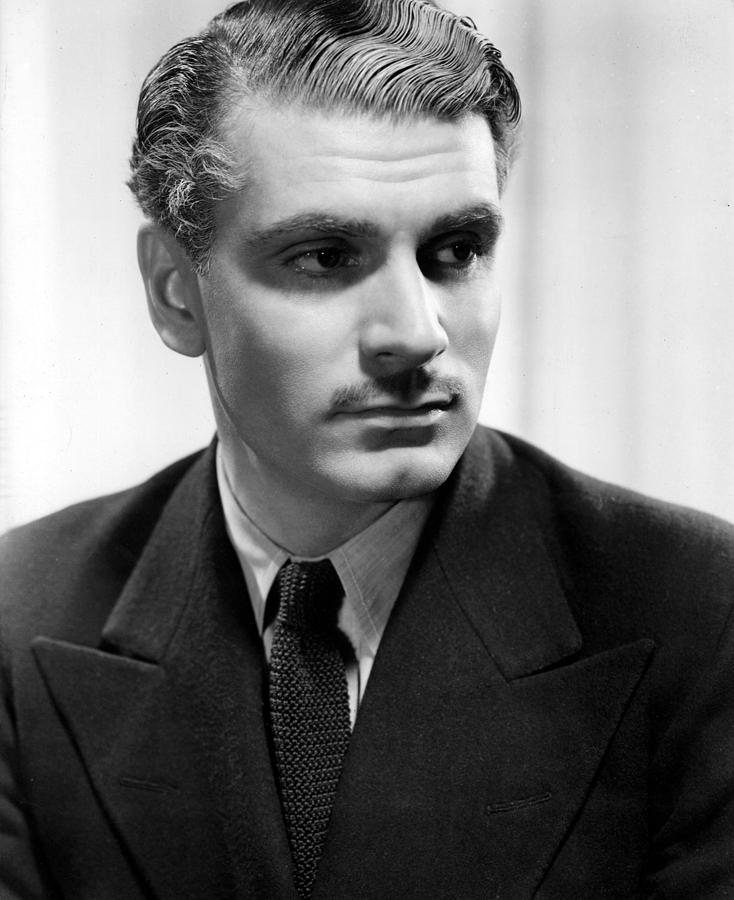 Rebecca, Laurence Olivier, 1940 Photograph