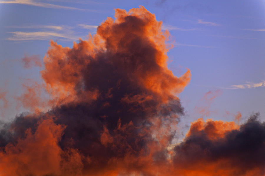 Red Clouds Photograph  - Red Clouds Fine Art Print