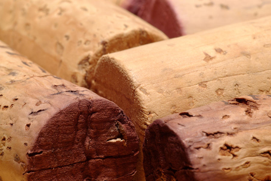 Red Wine Corks Photograph  - Red Wine Corks Fine Art Print