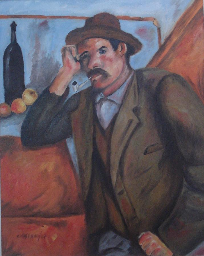 Reproduction Of The Smoker Painting