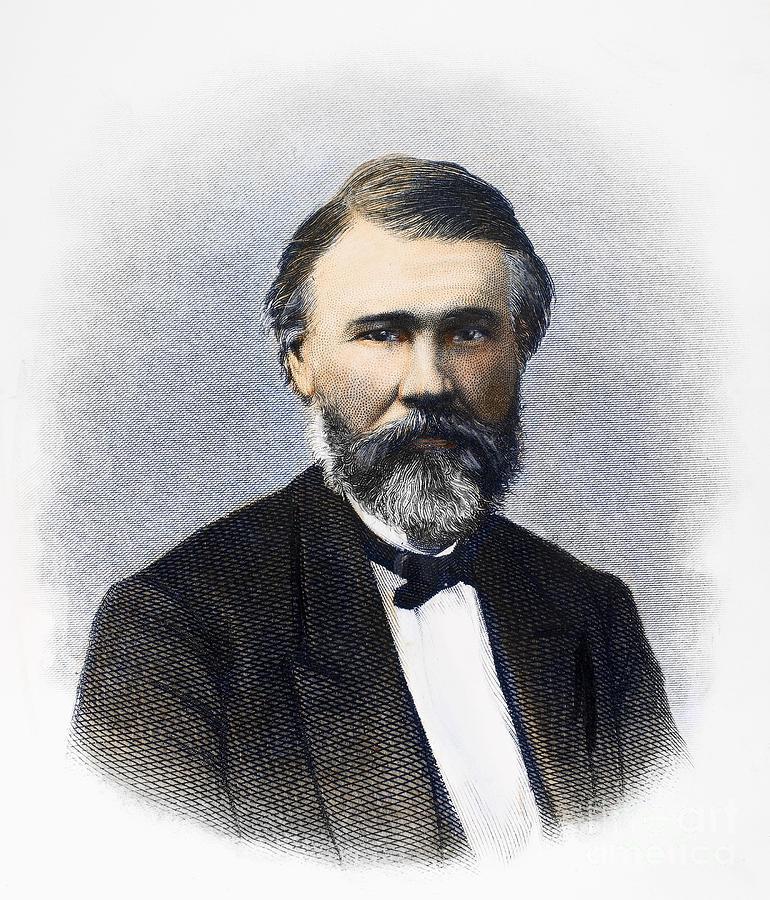 19th Century Photograph - Richard Jordan Gatling by Granger