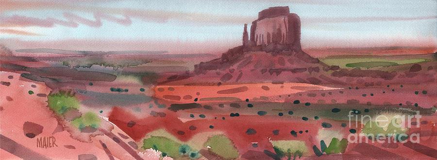 Right Mitten Panorama Painting