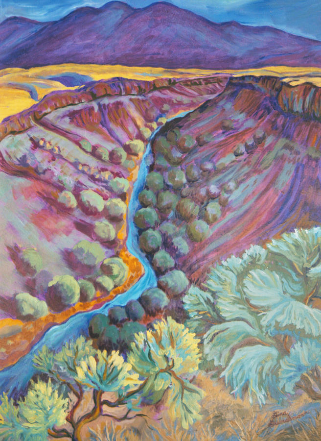 Rio Grande In September Painting