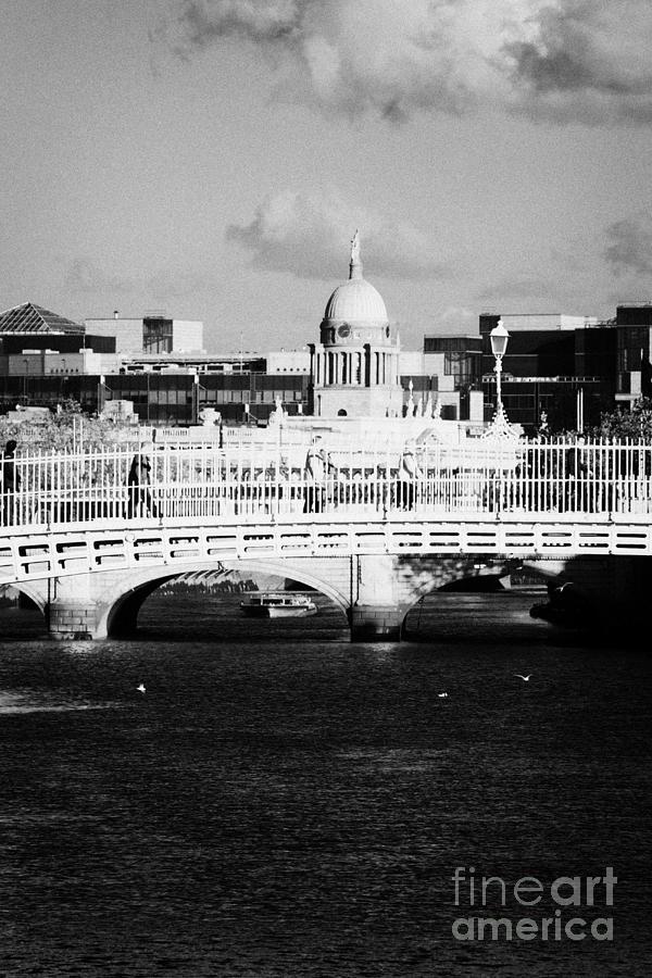 Dublin Photograph - River Liffey Dublin City Center by Joe Fox