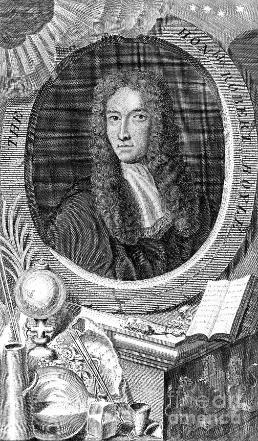 Robert Boyle, British Chemist Photograph
