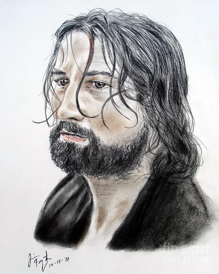 Robert De Niro In The Mission Drawing