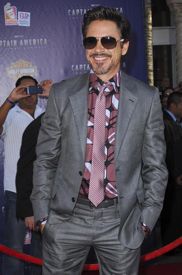 Robert Downey Jr. At Arrivals Photograph