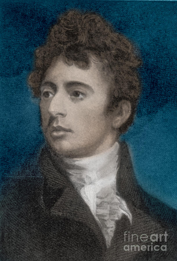 Robert Southey, English Poet Laureate Photograph