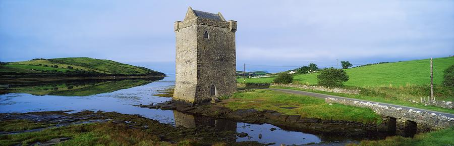Rockfleet Castle, Clew Bay, Co Mayo Photograph