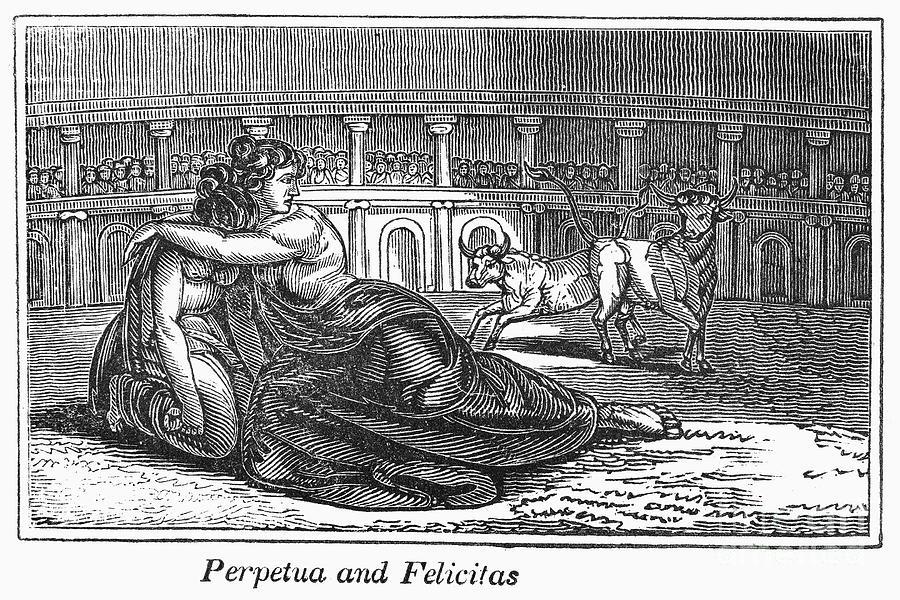 Rome: Perpetua & Felicitas Photograph