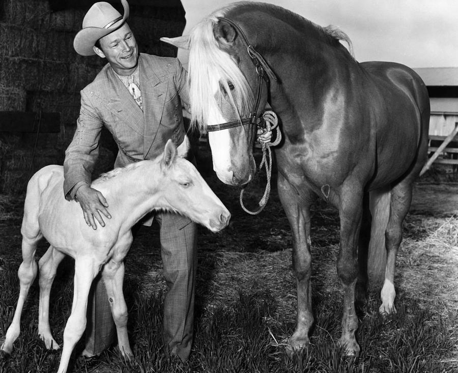 Roy Rogers 1911-1998, American Actor Photograph