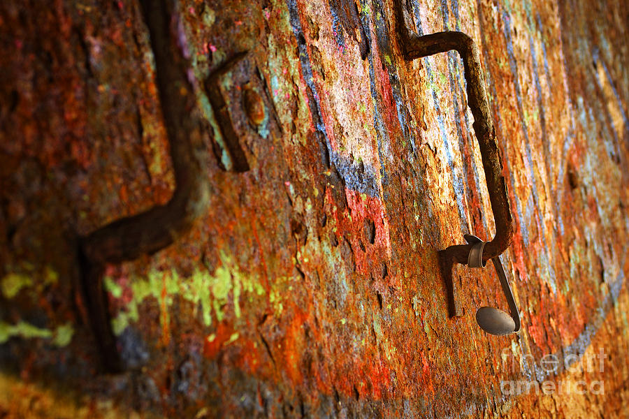 Rust Background Photograph