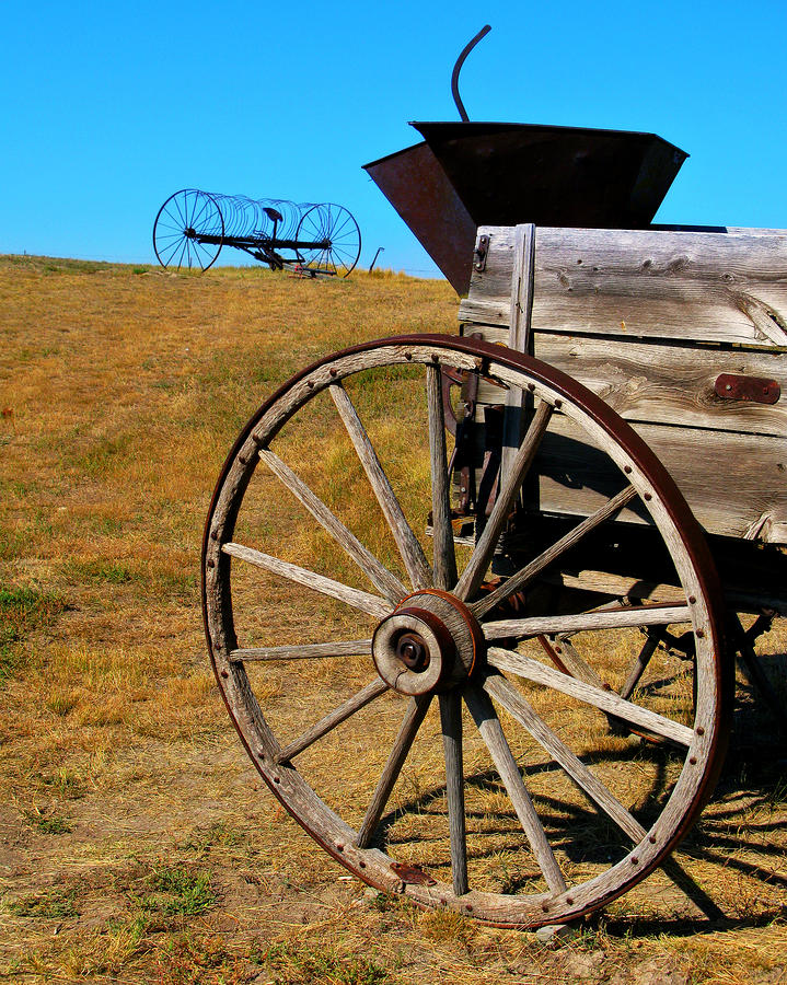 Rustic Wagon Photograph