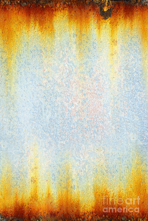 Abstract Photograph - Rusty Background by Carlos Caetano