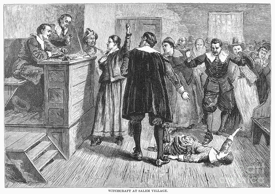 Salem Witch Trials, 1692 Photograph  - Salem Witch Trials, 1692 Fine Art Print
