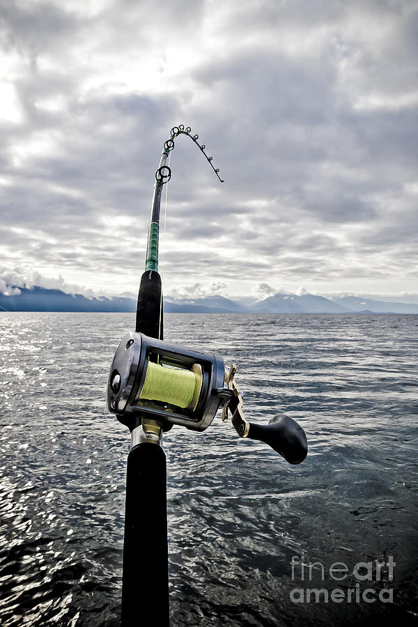 Salmon Fishing Rod Photograph