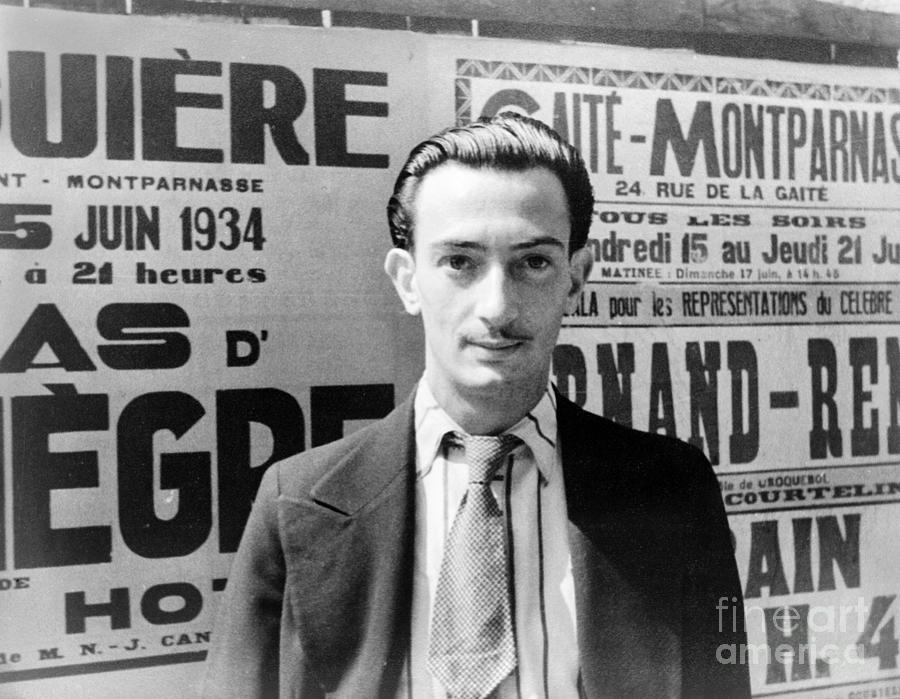 Salvador Dali (1904-1989) Photograph