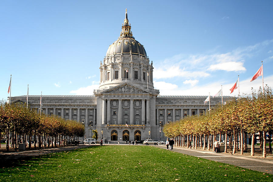 San Francisco City Hall - Beaux Arts At Its Best Photograph  - San Francisco City Hall - Beaux Arts At Its Best Fine Art Print