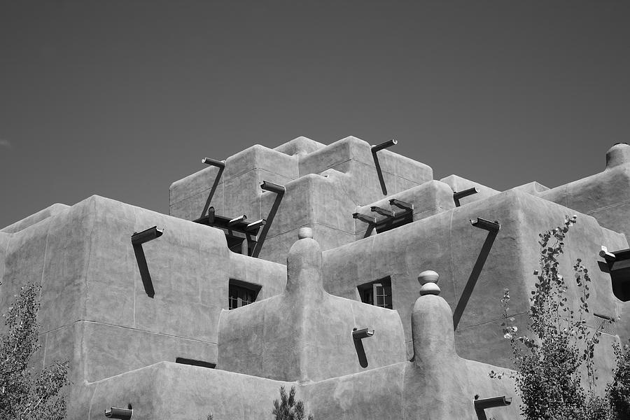 Santa Fe - Adobe Building Photograph  - Santa Fe - Adobe Building Fine Art Print