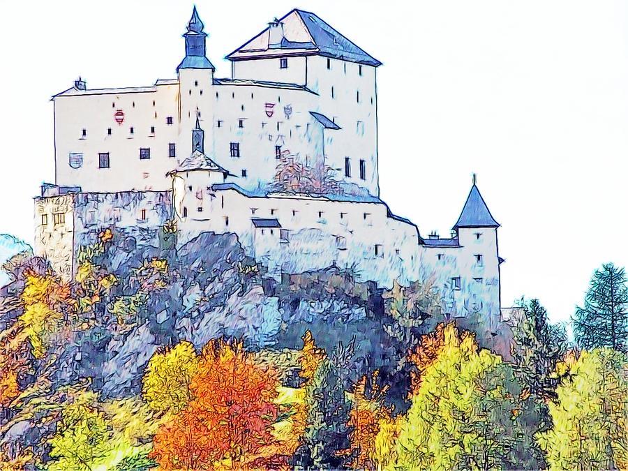 Europe Photograph - Schloss Tarasp Switzerland by Joseph Hendrix