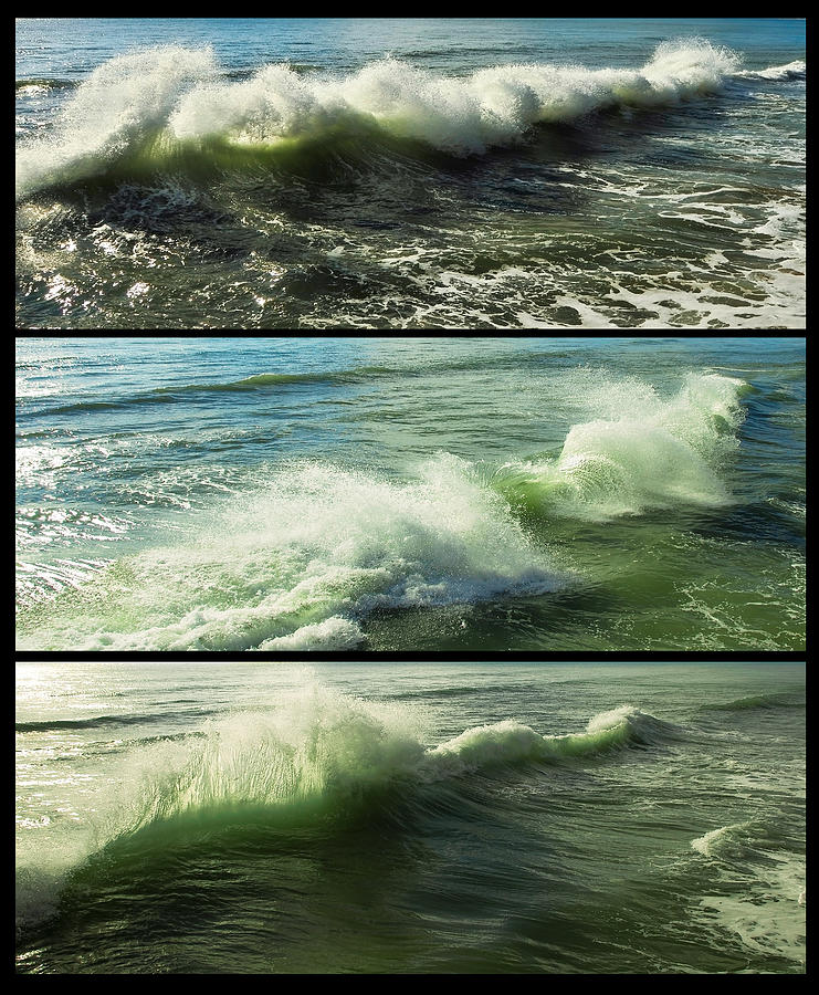 Sea Waves Photograph  - Sea Waves Fine Art Print