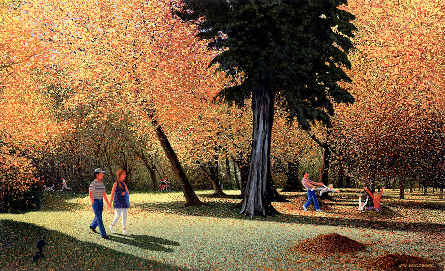 Season Of Abundance And Joy Painting