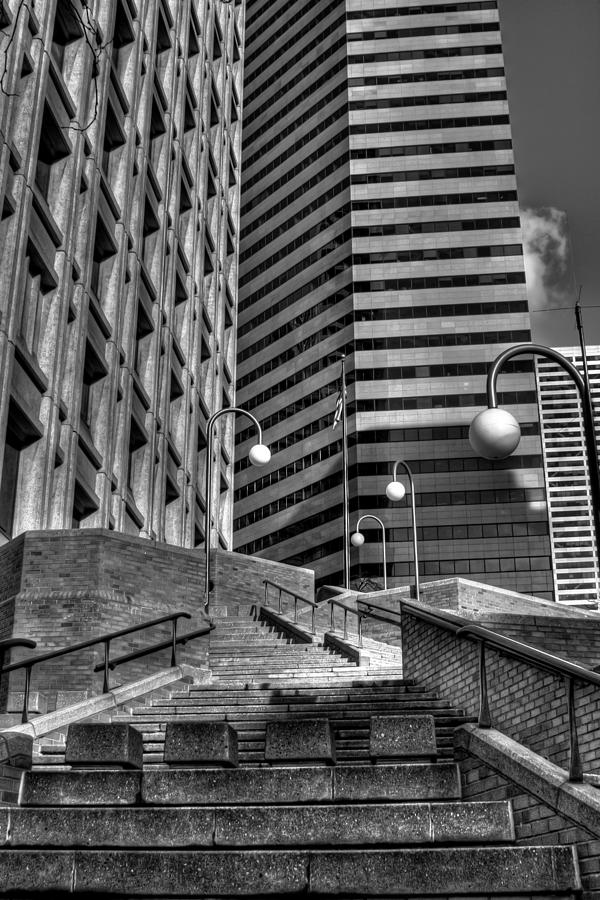 Seattle Skyscrapers IIi Photograph  - Seattle Skyscrapers IIi Fine Art Print