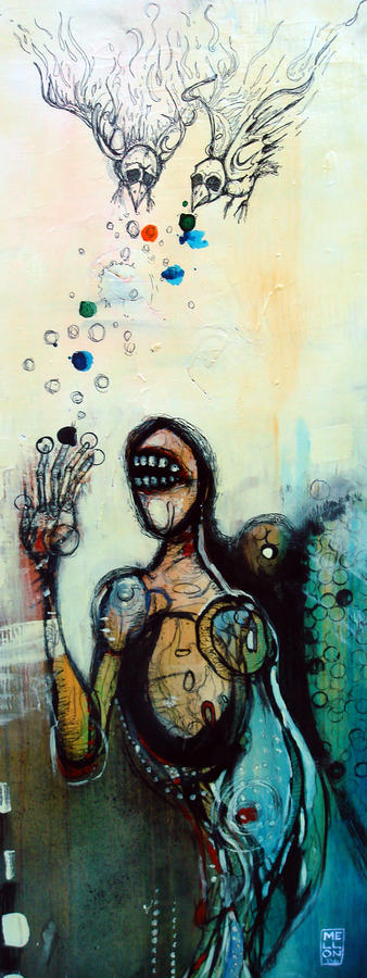 Separation Of Mind Painting  - Separation Of Mind Fine Art Print
