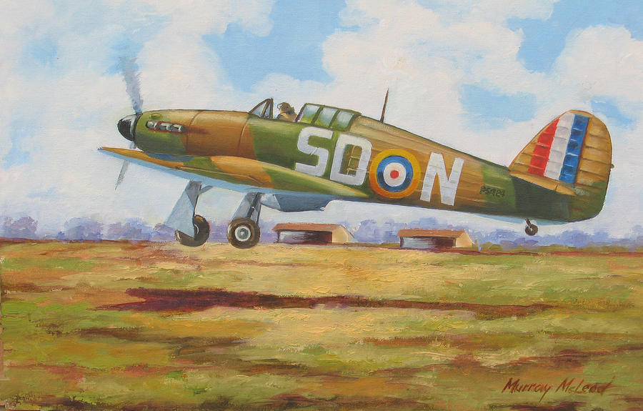 September Sortie Painting  - September Sortie Fine Art Print