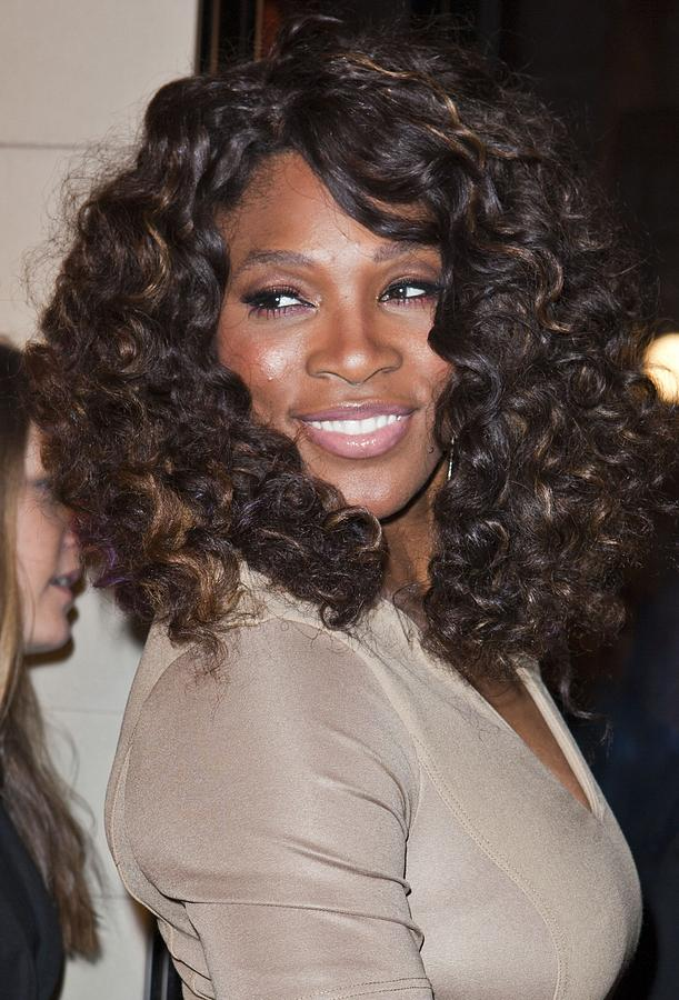 Serena Williams At Arrivals Photograph