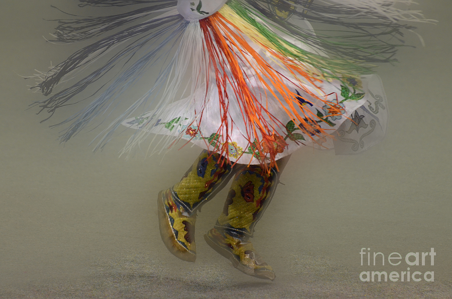Shawl Dancer 4 Photograph  - Shawl Dancer 4 Fine Art Print