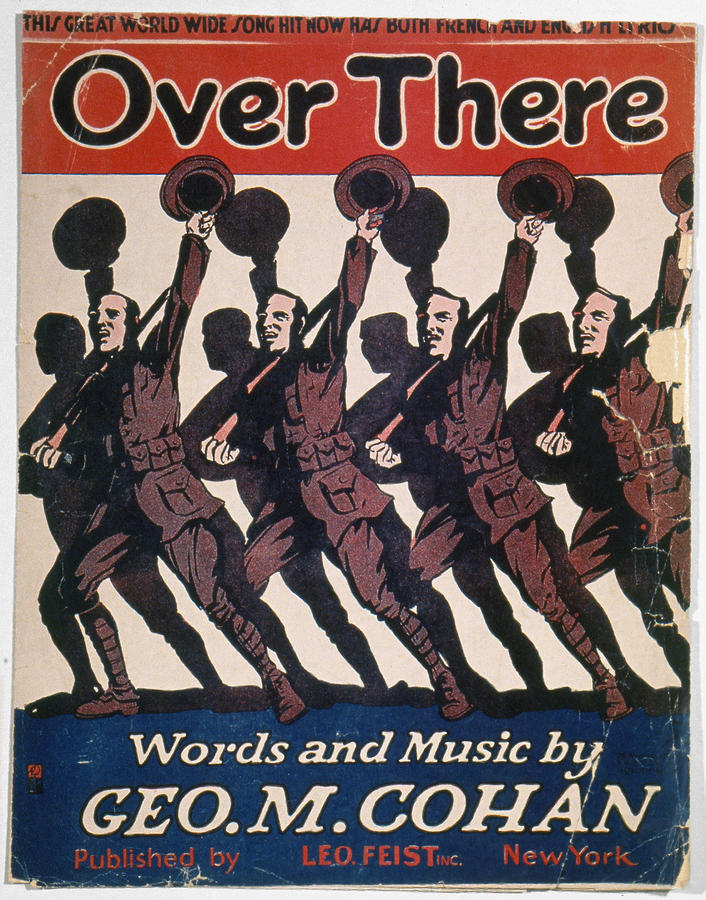 Sheet Music Cover, 1917 Photograph