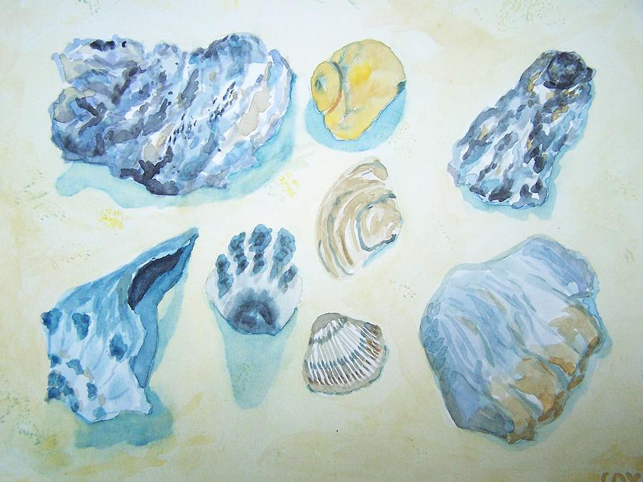 Shells Painting