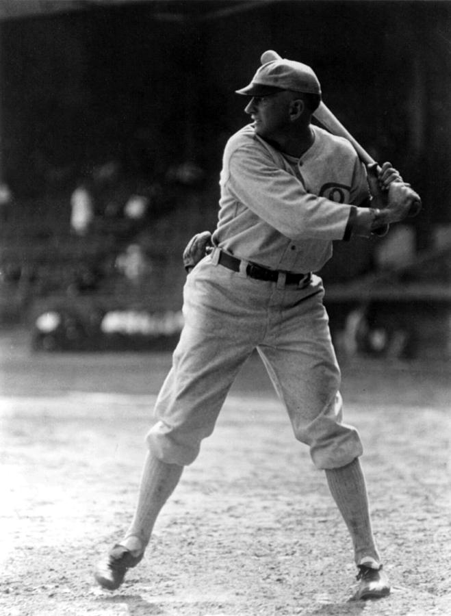 Shoeless Joe Jackson, Batting Practice Photograph