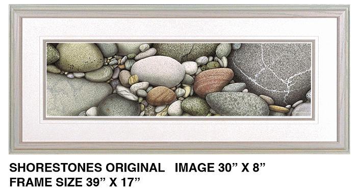 Jon Q Wright Painting - Shore Stones by JQ Licensing