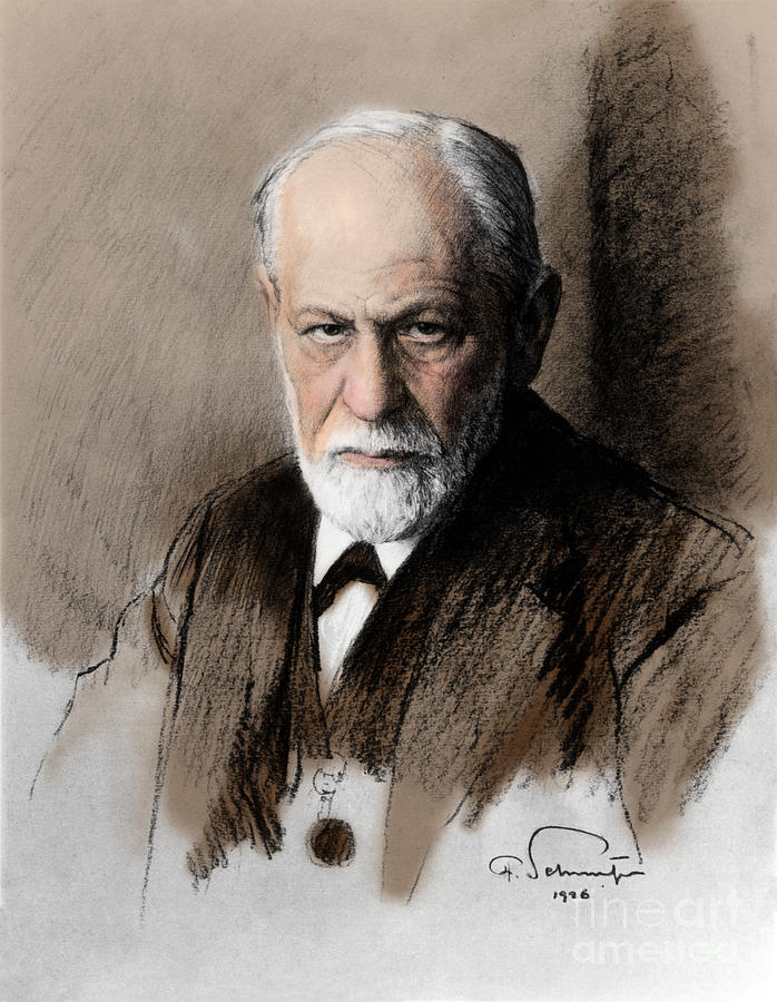Sigmund Freud, Father Of Psychoanalysis Photograph