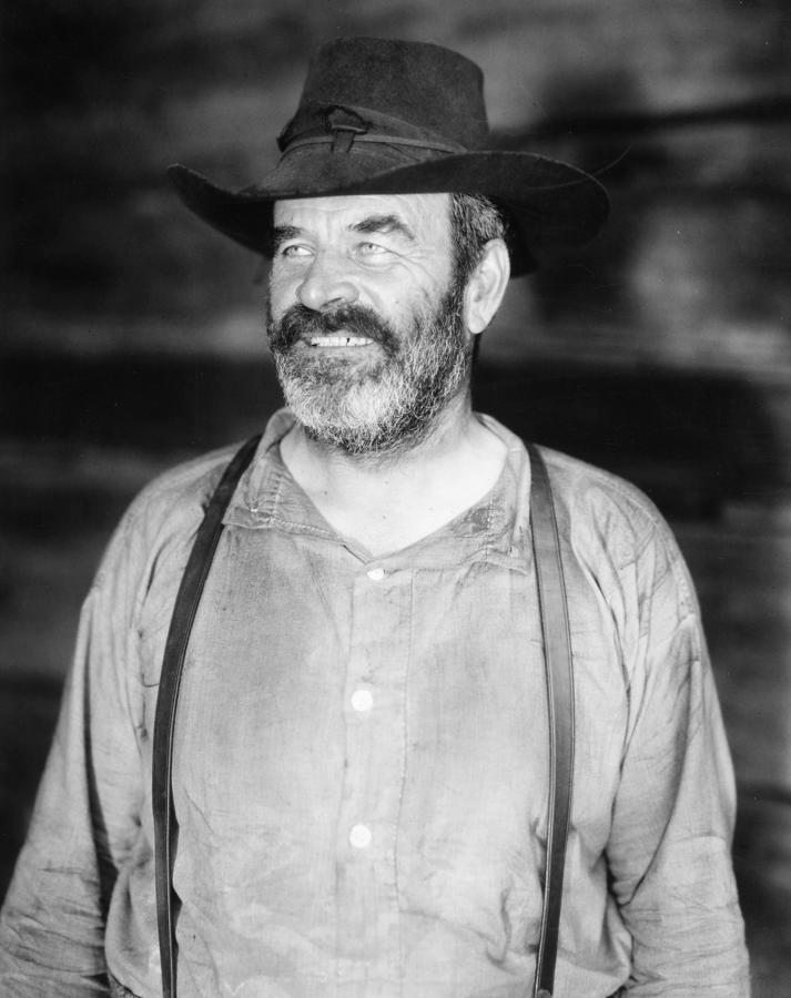Silent Film Still: Beards Photograph