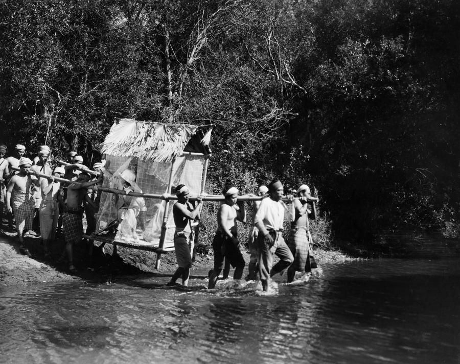 -natives- Photograph - Silent Film Still: Natives by Granger