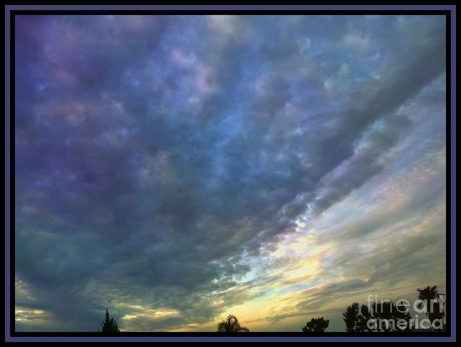 Sky Canvas Photograph  - Sky Canvas Fine Art Print
