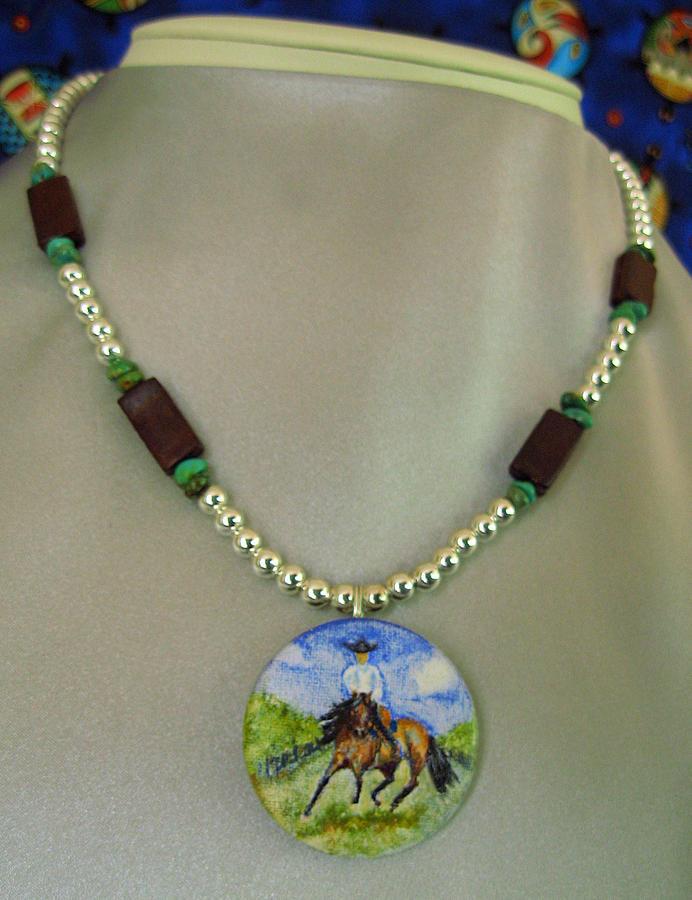 Slap Leather Jewelry Series Reining Riding Jewelry